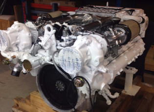 MAN Marine Engine D2840 LE 401, 820HP, Fully Rebuild