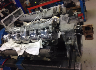 MAN Marine Engine D2848 LE 401, 820HP, with new Long Block, Fuel System