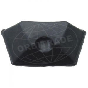 Orbitrade 19531 Rubber Block for Shield for Volvo Penta
