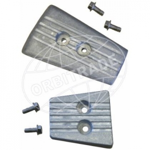 Orbitrade 1-10289 Anode Kit (Aluminium) for AQ Drive for Volvo Penta  SX-A, DPS-A, DPS-B, DPS-BI